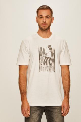 Volcom - Tričko pánské biela S