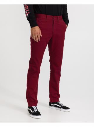 Voľnočasové nohavice pre mužov VANS - červená pánské XL