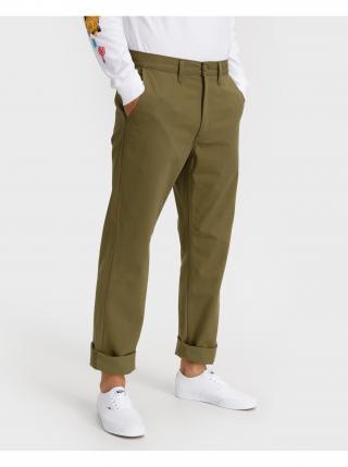 Voľnočasové nohavice pre mužov VANS - zelená pánské M