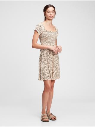 Voľnočasové šaty pre ženy GAP - hnedá dámské XS