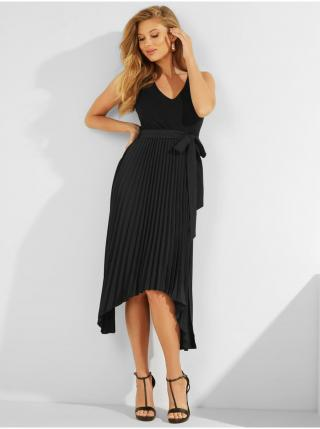 Voľnočasové šaty pre ženy Guess - čierna dámské XS