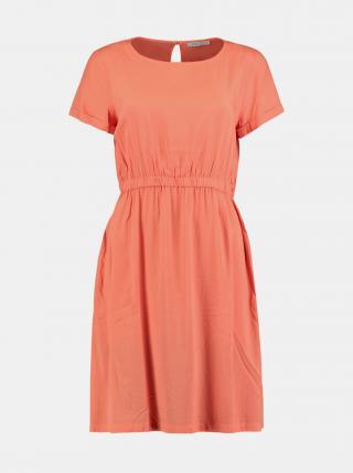 Voľnočasové šaty pre ženy Hailys - oranžová dámské XXL