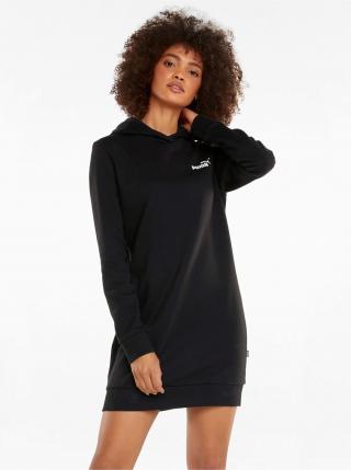 Voľnočasové šaty pre ženy Puma - čierna dámské XS