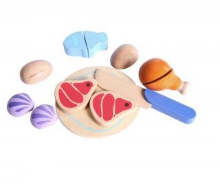 Vzdělávací hračka Kitchen Meal Vícebarevná