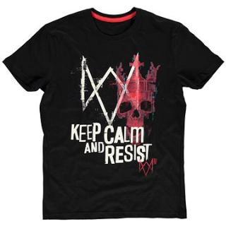 Watch Dogs Legion – Keep Calm And Resist – tričko
