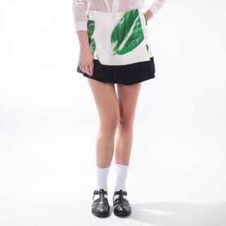 WeSC Sung Leaves White XL dámské Biela XL