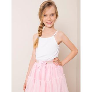 White cotton top for a girl dámské Neurčeno 98