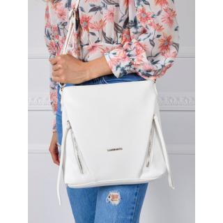 White ladies handbag dámské Other One size