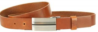 Wildskin Kožený opasok 9501 hnedý 115 cm