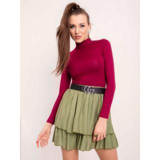 Women´s green skirt RUE PARIS dámské Neurčeno L