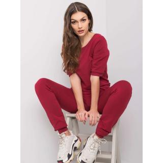 Women´s maroon jumpsuit dámské Neurčeno S
