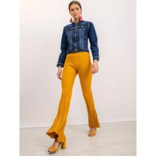Women´s mustard BSL pants dámské Neurčeno XS