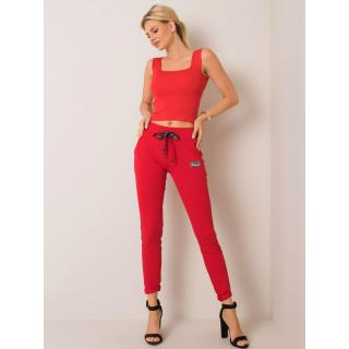 Women´s red sweatpants dámské Neurčeno XL