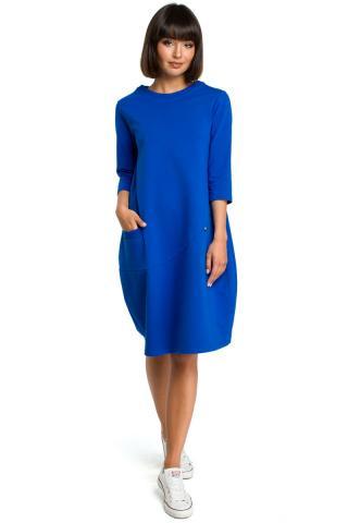 Womens dress BeWear B083 dámské Blue   Royal Blue L