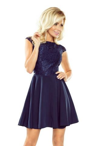 Womens dress NUMOCO 157 dámské Navy S
