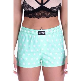Womens shorts Emes stars on green  dámské Other M