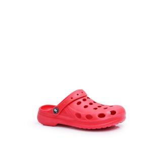 Womens Slides Foam Red Crocs EVA dámské Neurčeno 38