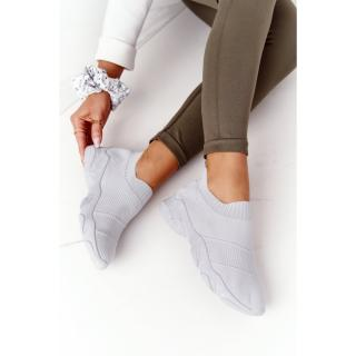 Womens Slip-on Sneakers Grey Yoga Class dámské Other 38
