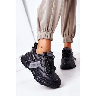 Womens Sport Shoes Big Star GG274215 Black-Grey dámské Other 38