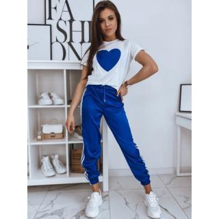 Womens sweat suit HEART blue Dstreet AY0573 dámské Neurčeno S
