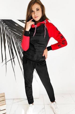 Womens sweat suit MOON red AY0373 dámské Neurčeno S