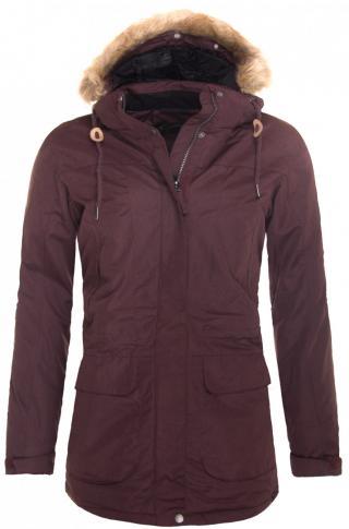 Womens winter coat HANNAH Galiano dámské Chocolate mel 36