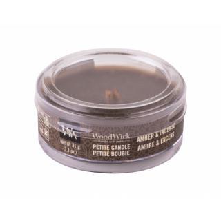 WoodWick Amber & Incense 31 g vonná sviečka unisex 31 g