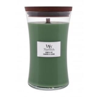 WoodWick Hemp & Ivy 609,5 g vonná sviečka unisex 609,5 g