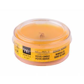 WoodWick Seaside Mimosa 31 g vonná sviečka unisex 31 g