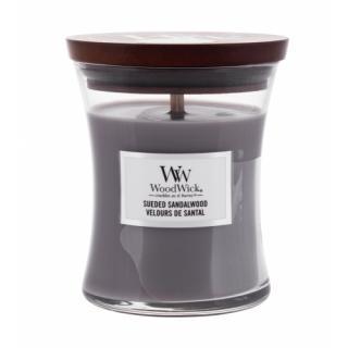 WoodWick Sueded Sandalwood 275 g vonná sviečka unisex 275 g