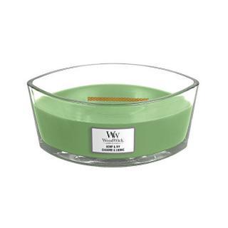 WoodWick Vonná sviečka loď Hemp & Ivy 453,6 g