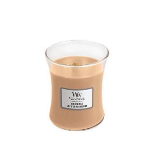 WoodWick Vonná sviečka váza Golden Milk 275 g