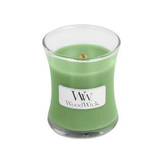 WoodWick Vonná sviečka váza Hemp & Ivy 85 g