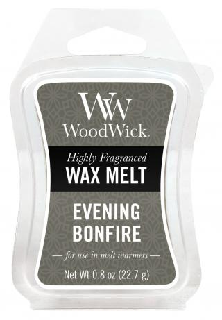 WoodWick vonný vosk do aromalampy Evening Bonfire