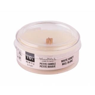 WoodWick White Honey 31 g vonná sviečka unisex 31 g