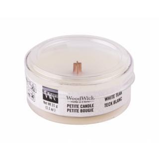 WoodWick White Teak 31 g vonná sviečka unisex 31 g