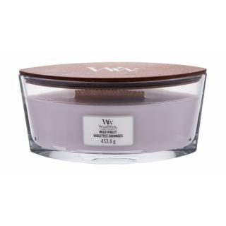 WoodWick Wild Violet 453,6 g vonná sviečka unisex 453,6 g