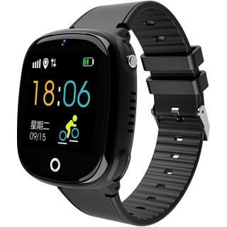 Wotchi Dětské Smartwatch HW11 s GPS a fotoaparátem - Black - SLEVA I čierna