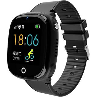Wotchi Dětské Smartwatch HW11 s GPS a fotoaparátem - Black - SLEVA VI čierna