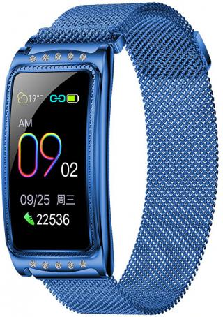 Wotchi Fitness náramek W28B - Blue dámské