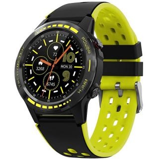 Wotchi GPS Smartwatch W70Y s kompasem, barometrem a výškoměrem - Yellow - SLEVA dámské žltá