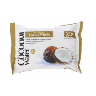 Xpel Coconut Water Hydrating Facial Wipes 25 ks čistiace obrúsky pre ženy na veľmi suchú pleť; výživa a regenerácia pleti; na rozjasnenie pleti dámské 25 ks