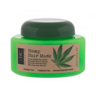 Xpel Hemp 220 ml maska na vlasy pre ženy BIO prírodný produkt; na poškodené vlasy; na šedivé vlasy; Prírodný; Cruelty free dámské 220 ml