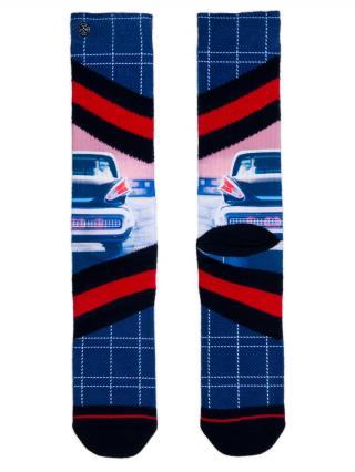 XPOOOS farebné pánske ponožky Chrome - 43-46 pánské farebná 43-46