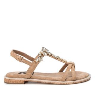XTi Camel Microfiber Ladies Sandals 49938 Camel 41