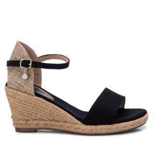 XTi Dámske sandále Black Microfiber Ladies Sandals 34258 Black 38 dámské