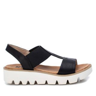 XTi Dámske sandále Black Pu Combined Ladies Sandals 49850 Black 39 dámské