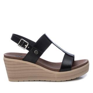 XTi Dámske sandále Black Pu Ladies Sandals 49868 Black 38 dámské