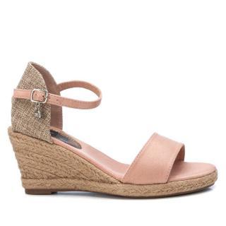 XTi Dámske sandále Nude Microfiber Ladies Sandals 34258 Nude 36 dámské