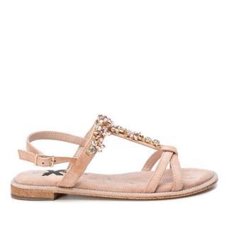 XTi Dámske sandále Nude Microfiber Ladies Sandals 49938 Nude 38 dámské